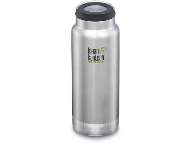 Klean Kanteen TKWide Bottle with Stainless Steel 946ml Vacuum Insulated brushed stainless